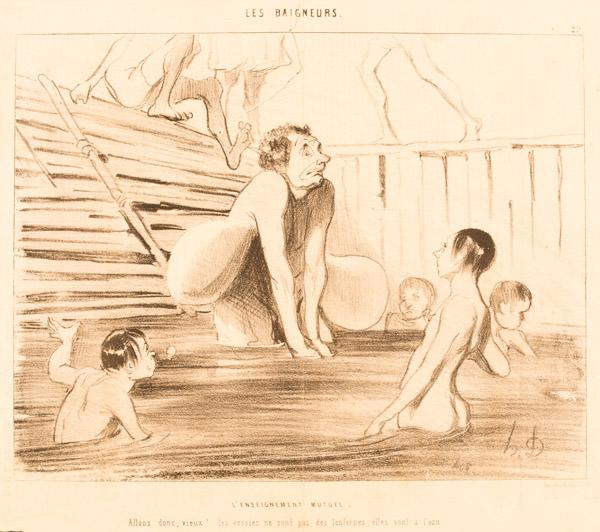 65.02.01 Daumier - Les Baigneurs - A-3