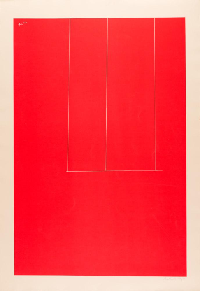 Robert Motherwell - London Series I,  Untitled, 1971