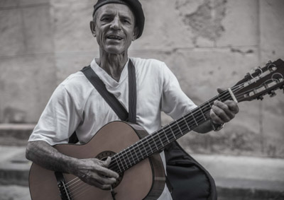 Royster - Street Musician