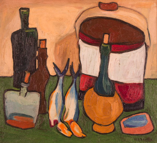 William H. Johnson - Still Life