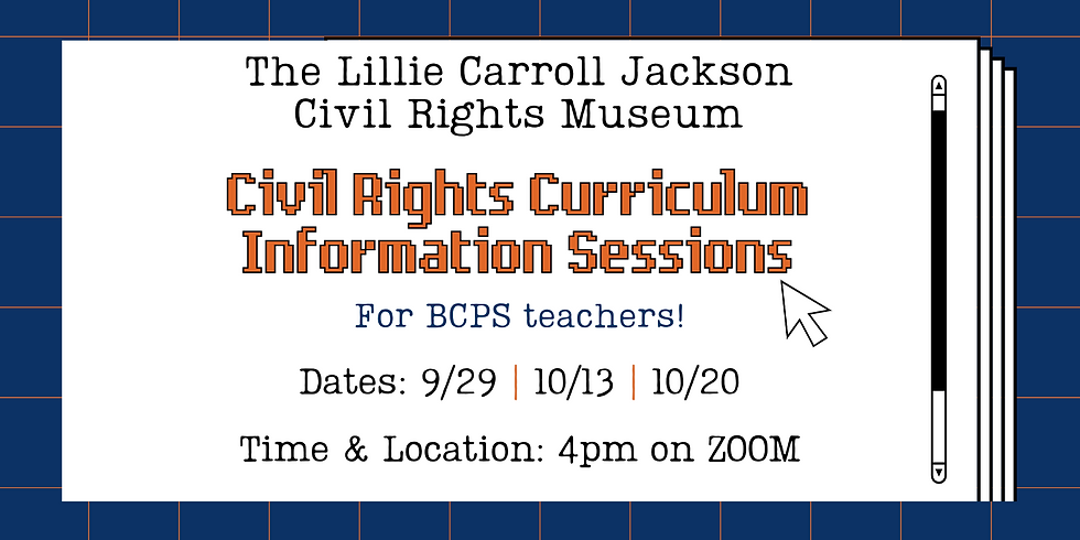 Civil Rights Curriculum Information Session