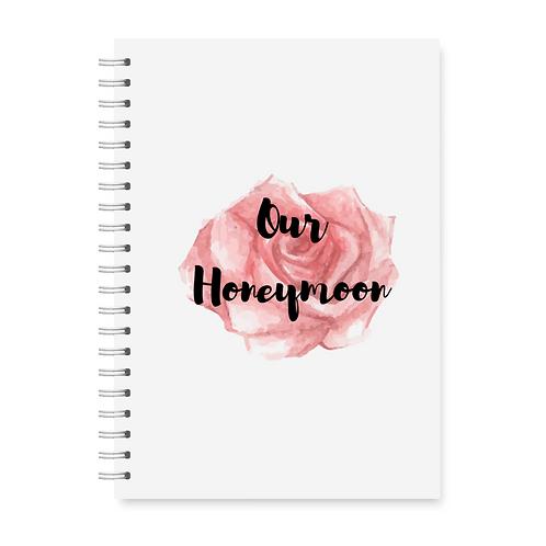 Watercolour Rose Honeymoon Planner