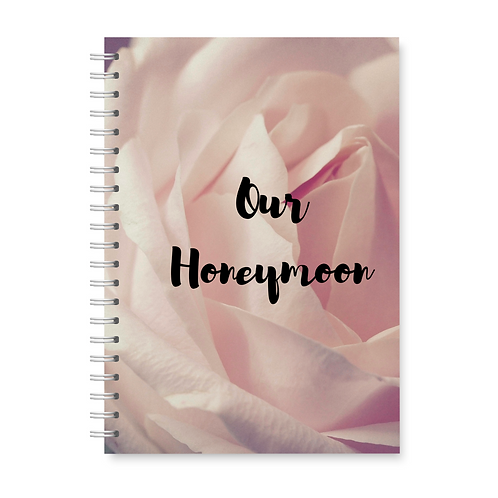Delicate Rose Honeymoon Planner