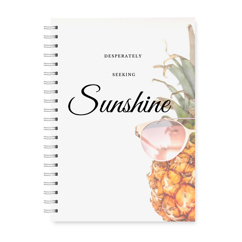 Desperately Seeking Sunshine Planner