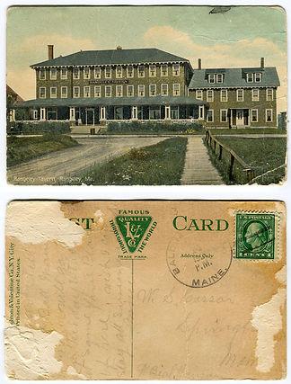 Historic postcard from The Rangeley Inn