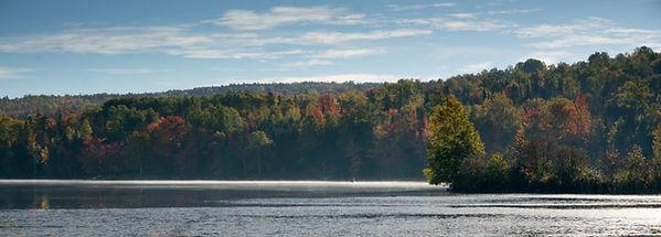 Haley Pond in Autumn