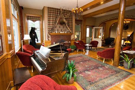 Lobby of The Rangeley Inn