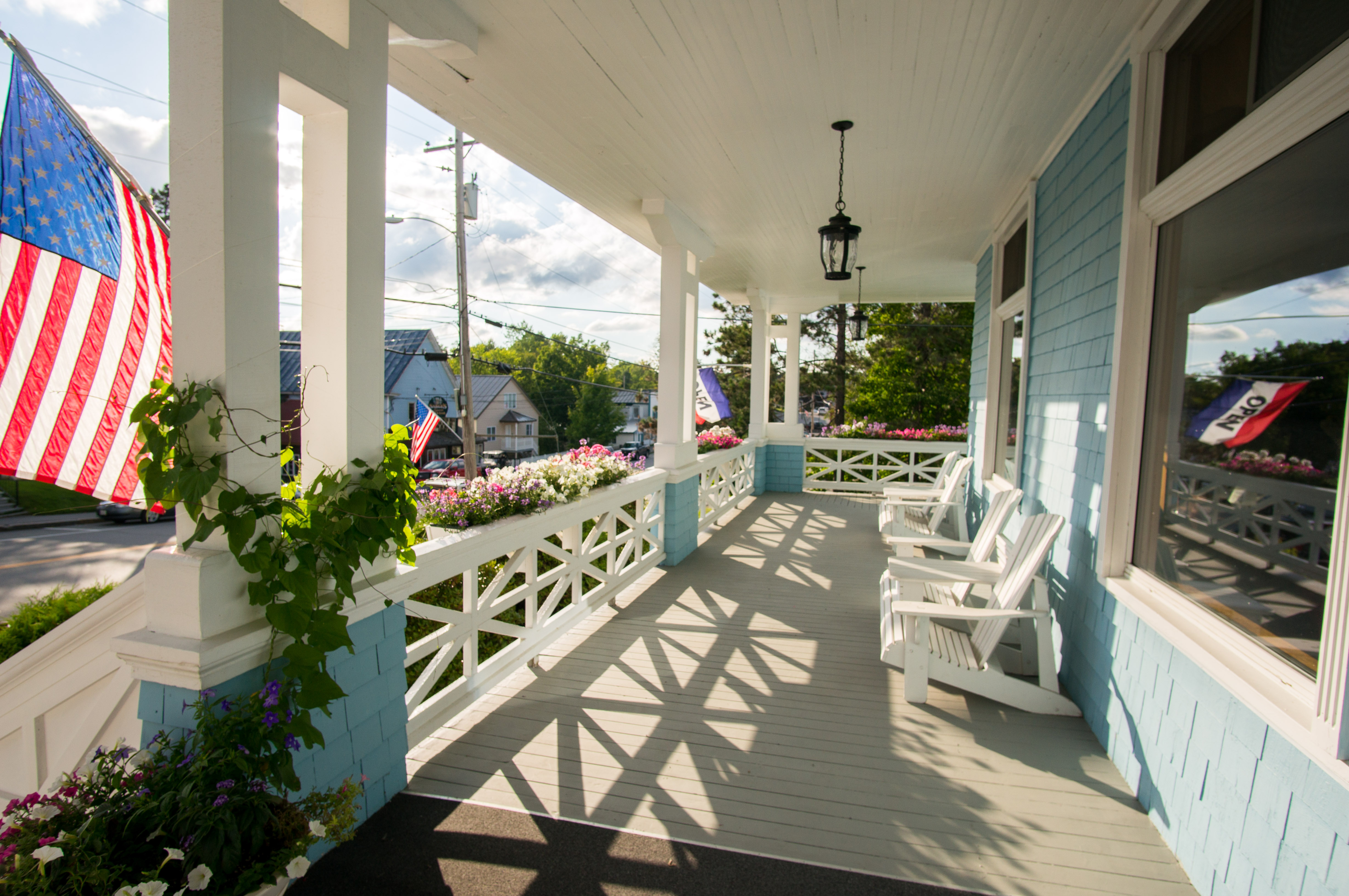 Rangeley Inn Front Porch