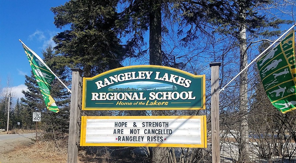 Hope and strength are not cancelled.  Rangeley Rises!