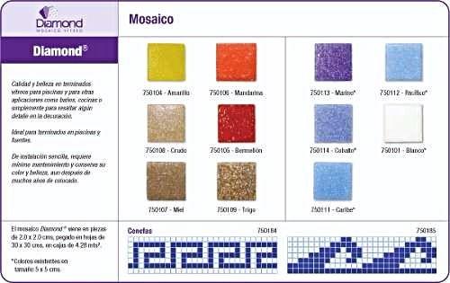 mosaico veneciano para alberca marca diamon