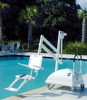silla electrica discapacitado para albercas