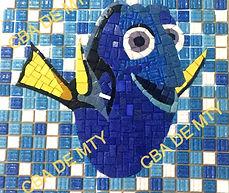 figura de mosaico venciano