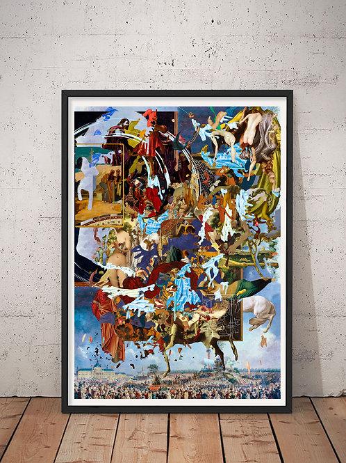 [With frame POSTER] YU-GI artwork by kazuya tanaka