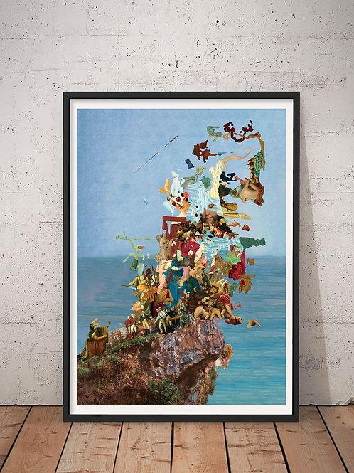 [With frame POSTER] INORI artwork by kazuya tanaka