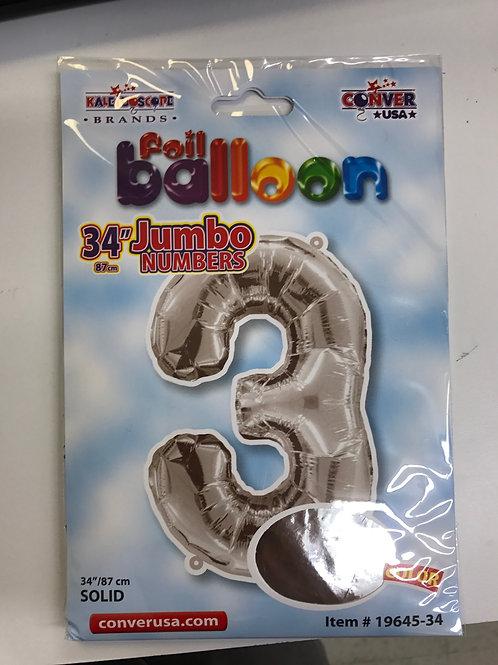 Jumbo #3 Balloon