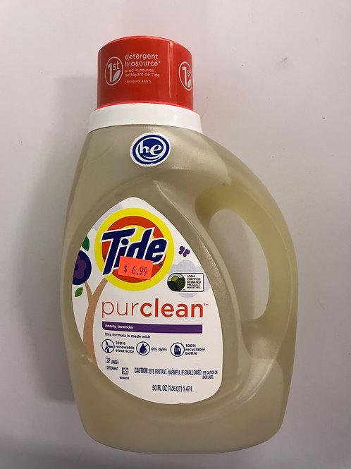 Tide Pure Clean Detergent 50oz.