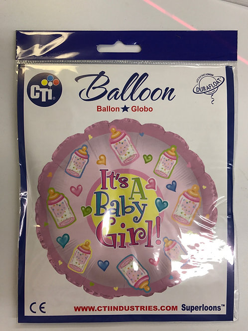 Baby Girl Balloon