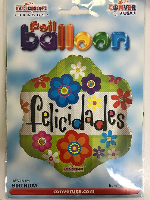 Felicidades Balloon