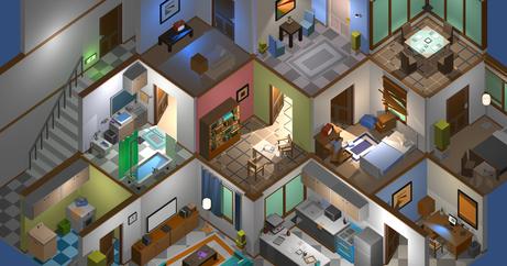 Backstreet Cube - House Interiors