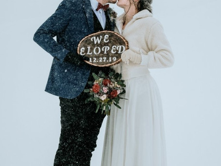 """Is Eloping becoming the """"New Normal"""" for weddings?"""
