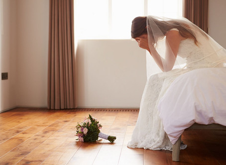 You had to postpone your wedding - NOW WHAT????