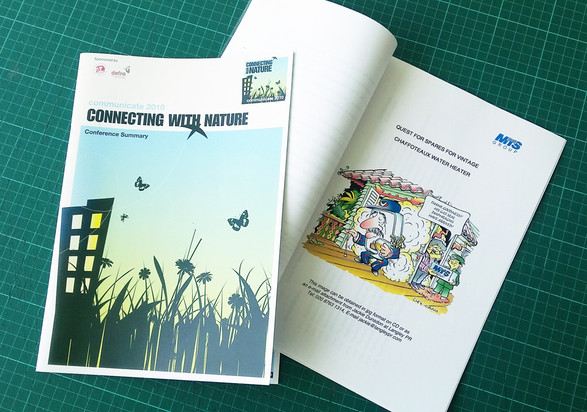Conference Cartoons by Luke Warm printed in Conference Reports and Proceedings