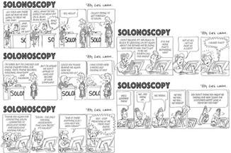 Cartoons for Cartoon Strip Workshop for Solon Housing Association
