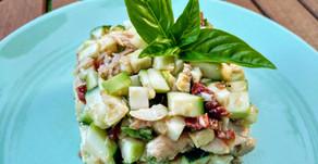 Salade estivale de courgette crue