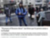 Nota para diario Clarín sección Ciudad sobre Humans of Buenos Aires, Jimena Mizrahi, proyecto inspirado en Humans of New York.
