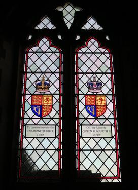 Diamind Jubilee Window, Little Houghton