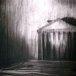 The Pantheon in a Storm