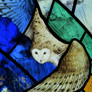 Owl, from 'Birds in Flight'