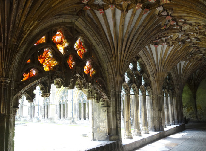 the Gathering from the cloister
