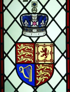 Diamond Jubilee Window Royal Coat of Arms