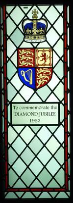 Diamond Jubilee Window Left Panel
