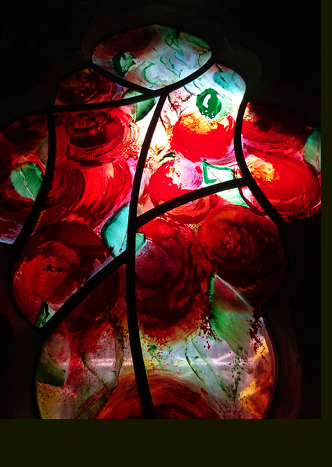Damson Tree - colour and light