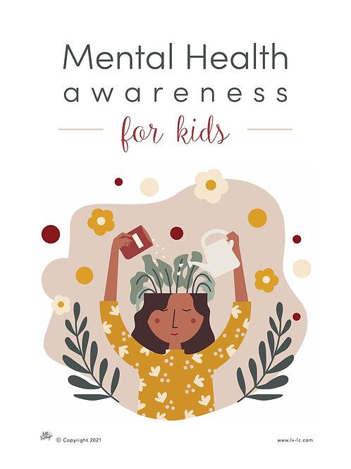 Mental Health for kids Printables