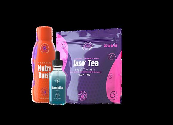 Raspberry Tea Kit W/ Resolution Drops