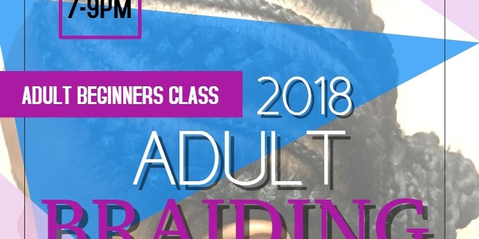 Adult Beginner Braiding Class