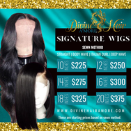 Hair Extensions Flyer