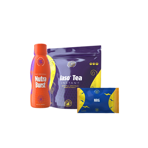 Lemon Detox Tea Kit W/ NRG