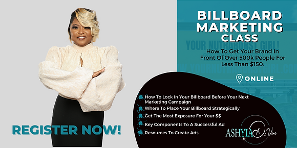 Copy of Copy of billboard marketng class