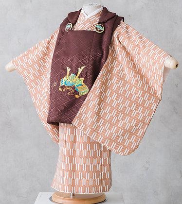 bebeたんぽぽ-3-茶定番被布