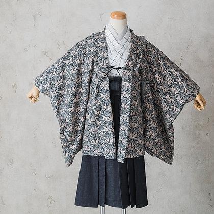 sola-5M-tonokoiro 小紋×白×デニム