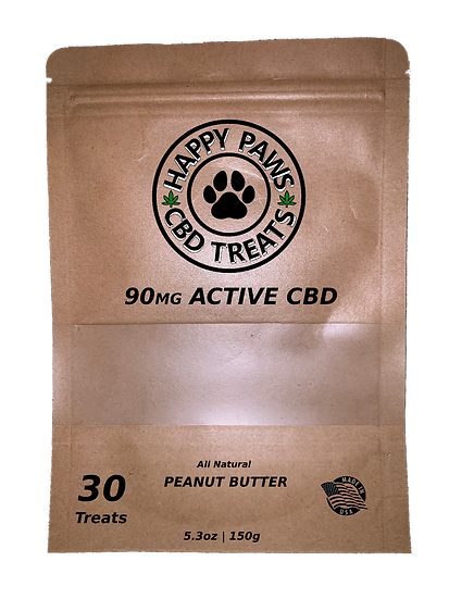 Happy Paws 30ct CBD Treats