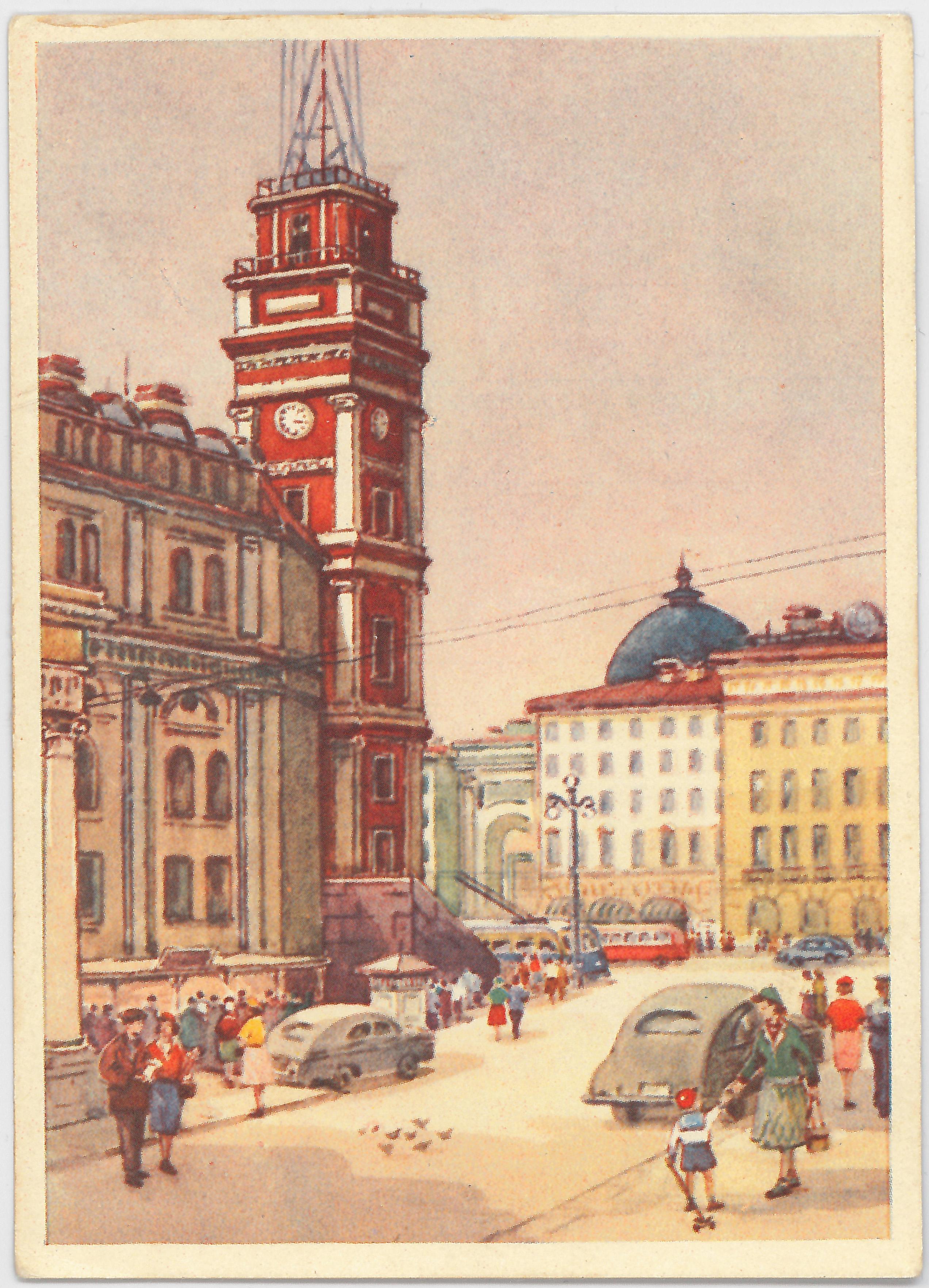Вид на Невский проспект.
