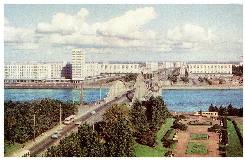 Володарский мост. Ленинград.  Фото В. Мельникова