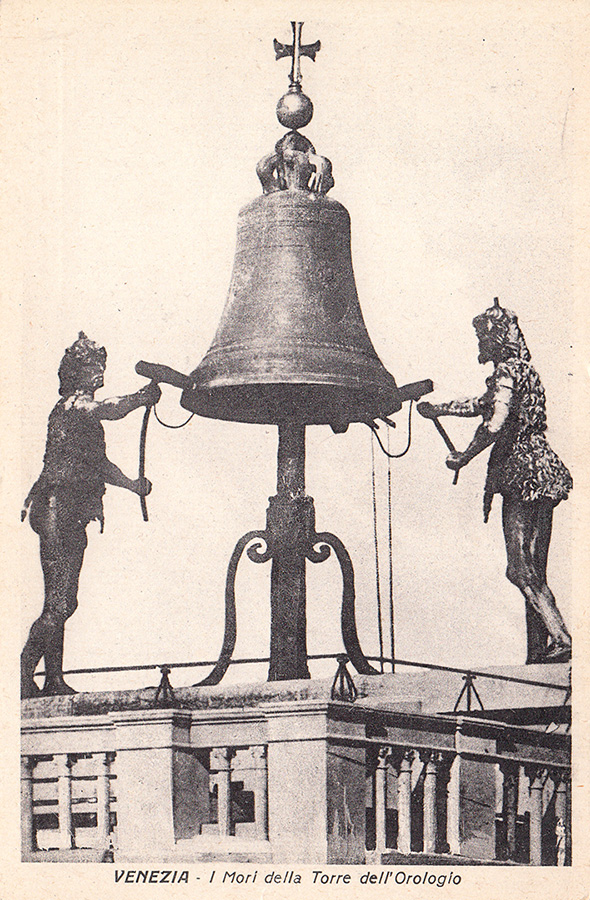 Часовая башня, площадь Сан Марко, Венеция.