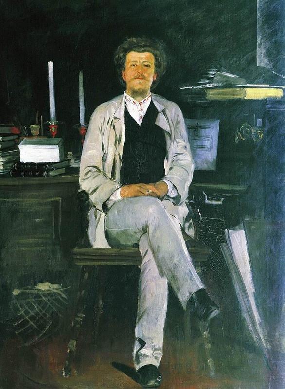 А.П. Рябушкин. Портрет И.Ф. Тюменева. 1886-1888