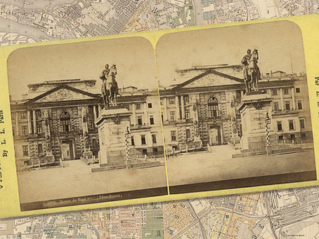 «Первые стереопары с видами Петербурга. Париж — 1857, 1861.» 27 декабря, 18:00